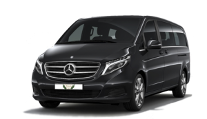malaga airport taxi mercedes v